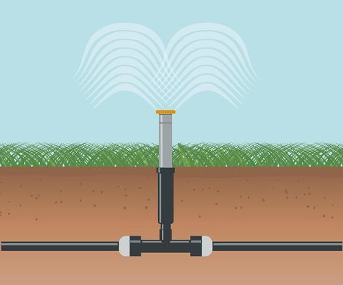 water irrigation diagram