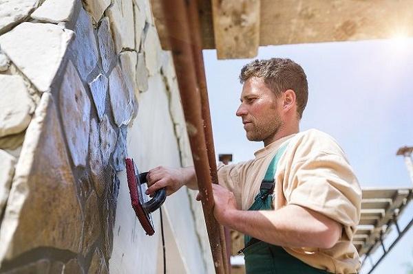 outdoor masonry job albany
