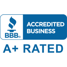 Accredited Business A+ Rated logo